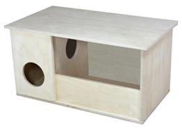 Elmato 12070 Sandbadehaus mit Schmutzschleuse Hamster,Degu,Gerbil,Rennmaus,Ratten - 1