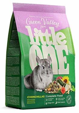 """Little One """"Grünes Tal Alleinfutter für Chinchillas im Beutel, 4er Pack (4 x 750 g) - 1"""