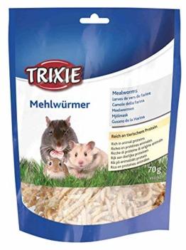 Trixie 60792 Mehlwürmer, getrocknet, 70 g - 1