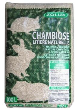 Zolux Chambiose 212310 Hanfstreu 100 Liter für Kaninchen, Meerschweinchen, Mäuse oder Hamster - 1